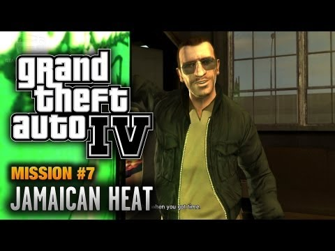 GTA 4 - Mission #7 - Jamaican Heat (1080p)