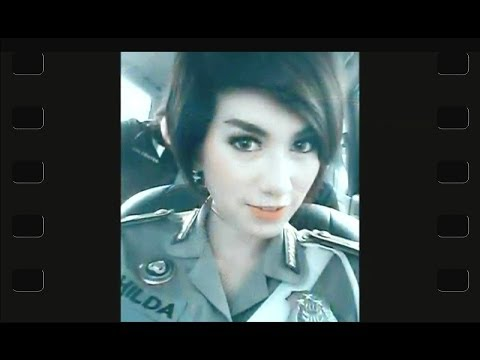Indonesian Beautiful Police Woman