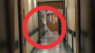 Ghost caught in Hospital 06/15 | Scary ghost