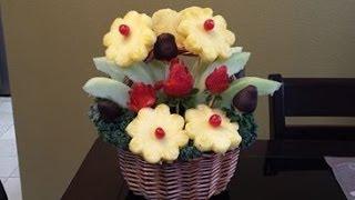 Arreglo Frutal - Edible Arrangement - Regalo para San Valentin - NuestraCasa2013