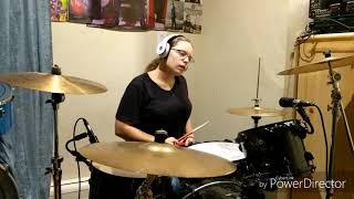 Twenty One Pilots Chlorine- Drum cover (14 year old girl)