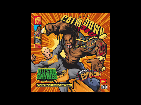 Busta Rhymes - Calm Down (Audio) ft. Eminem