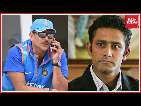 Anil Kumble And Ravi Shastri, Front Runners For Indian Team Coach