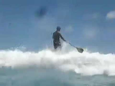 How Do I Paddle Over a Wave?