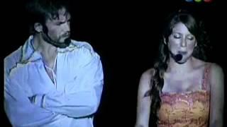 Floricienta show en Velez con Juan Gil Navarro