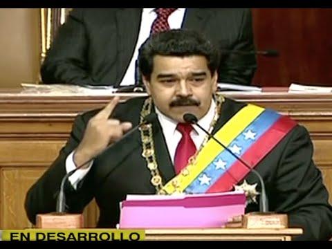 ¡Al fin! Maduro habló...