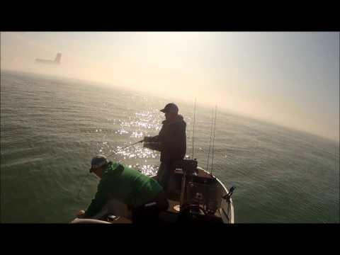 Detroit River Walleye Fishing 2012
