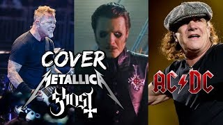 Metallica hace COVER de GHOST | Brian Johnson relata como perdió su Oído | 30 Seconds To Mars