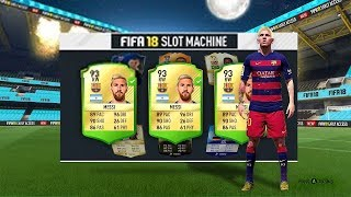 FIFA 18 SLOT MACHINE Game Mode!! - (Limited Edition DLC)