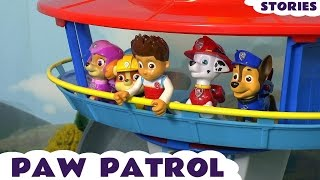 Paw Patrol Toys Fun Stories Compilation with Minions Peppa Pig and Mashems ToyTrains4u