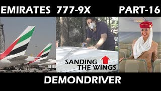 Emirates 777-9X RC Airplane Airliner Build Part-16