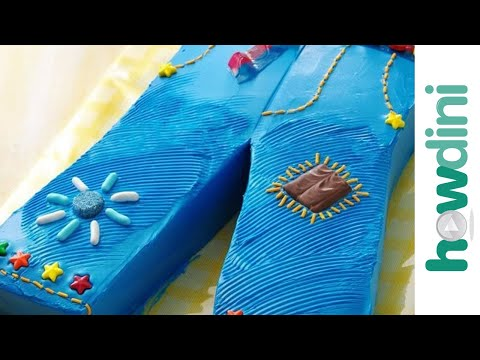 Blue jeans birthday cake decorating ideas – How to make a cake