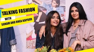 Download Sonam Kapoor and Rhea Kapoor talk about fashion & their clothing line  | Fashion Trends | Pinkvilla 3Gp Mp4