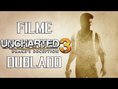 Uncharted 3. Drakes Deception. FILME DUBLADO. História Completa