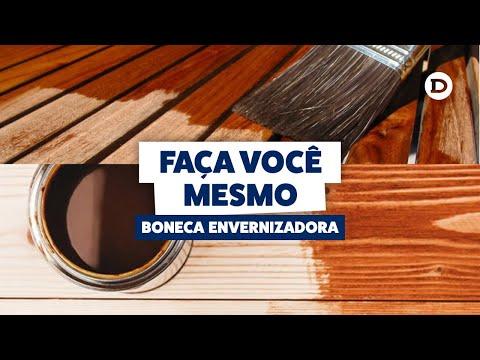 Faça você mesmo: Boneca para Envernizar Madeira