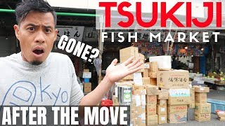 What NEW Tokyo Tsukiji Fish Market is like AFTER Toyosu MOVE | Street Food Gone!?