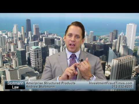 Lawsuits Involving Structured Products At Ameriprise Financial