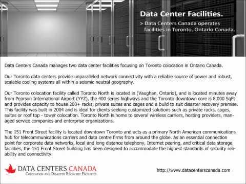 Colocation Data Center - Data Centers Canada