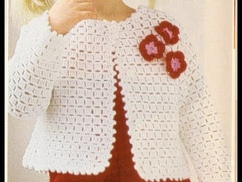Play Hmoob video on youtube Sueter con Botones para Niña Crochet ...