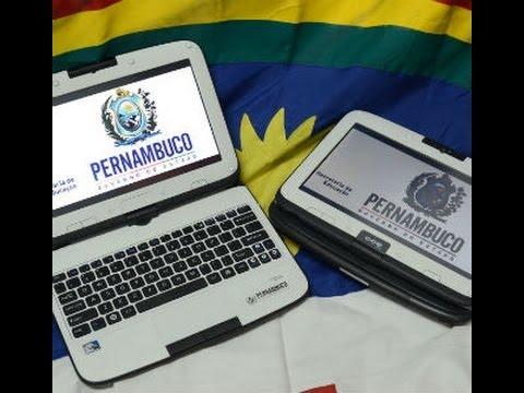 PC tablet  governo de pernambuco 2013