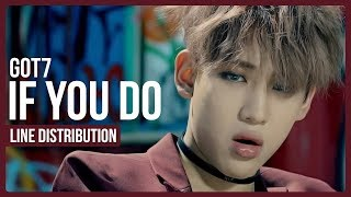 Download Lagu GOT7 - If You Do Line Distribution (Color Coded) Gratis STAFABAND