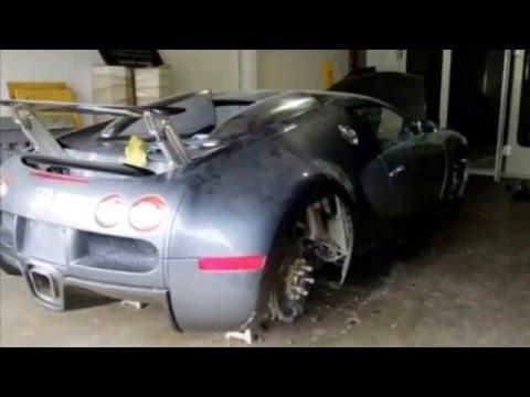 Брошенные авто мира,Дубаи,США.Подборка брошенных авто суперкары