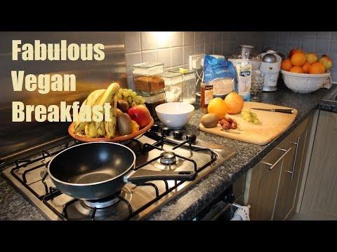 Vegan Recipes Breakfast ideas - Fab's Vegan Cooking - Healthy Food Diet