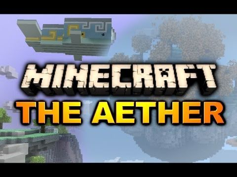Minecraft: Gold Dungeon Spotted! (Aether Mod Adventure - Ep. 1)