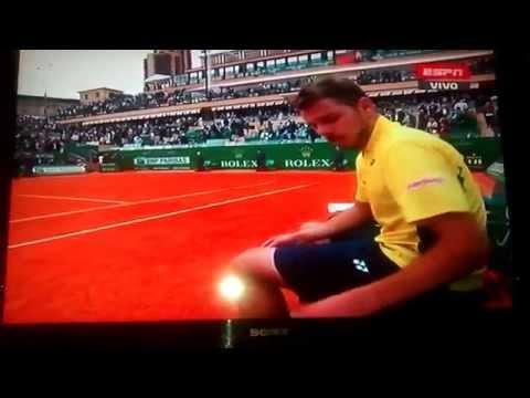 Ferrer vs Wawrinka Montecarlo 2014 Match Point
