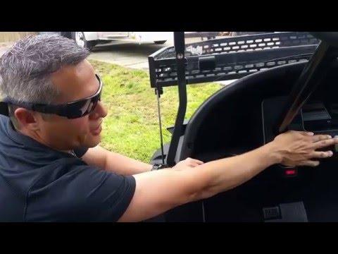 Triad Golf Carts The Hunter HD 4wd 4x4 electric golf cart