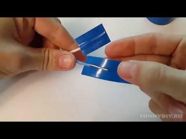 как заизолировать провод от воды видео