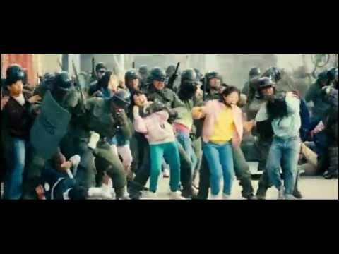 "girls against riot police (fight scene from ""Sunny"") thumbnail"