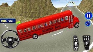 School Bus Simulator 3d Drive Game | School Bus Racing Games | Bus Driving - bus games