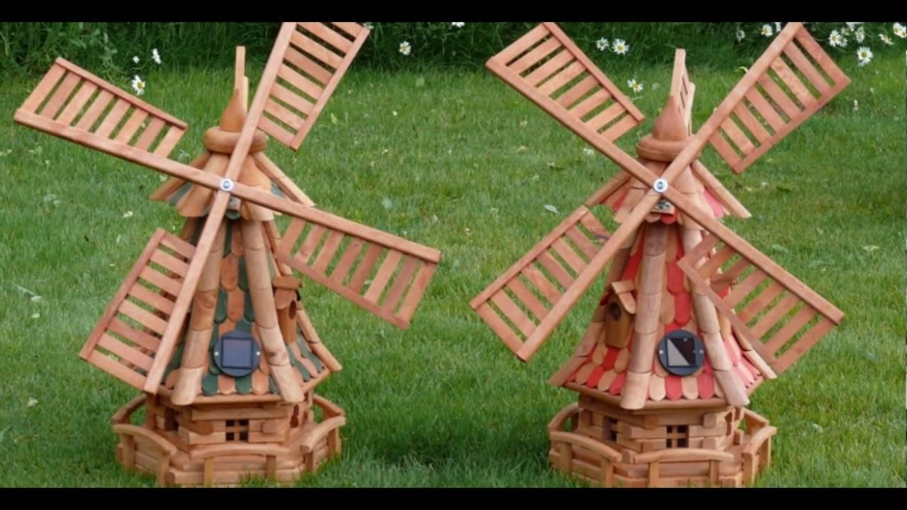 Ветряная мельница для дачи своими руками 80