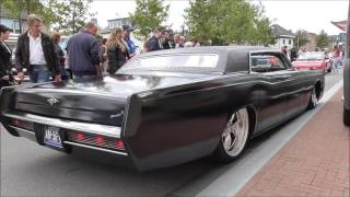 Very Low Lincoln Continental 7.57L V8 Sound and Driving Away
