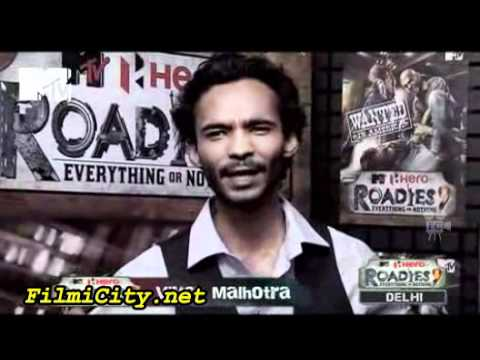 7 January 2012 MTVRoadies 9 Part 2