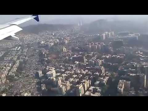 landing goa to mumbai flight indigo airlines