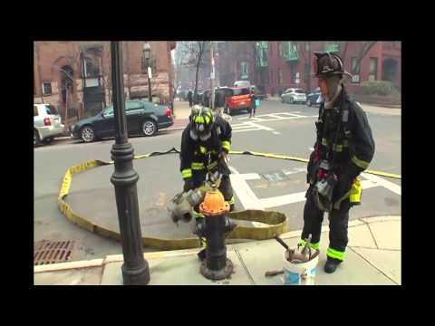 Scene At 9-Alarm Fire On Beacon Street In Boston