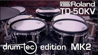 Roland TD-50 KV electronic drumkit drum-tec edition MK2 with extra PD-108 pad