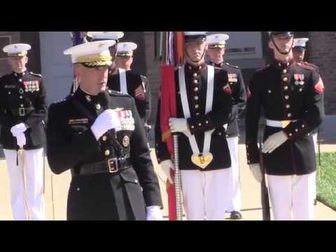 Gen. Joseph F. Dunford, Jr. takes over as USMC Commandant