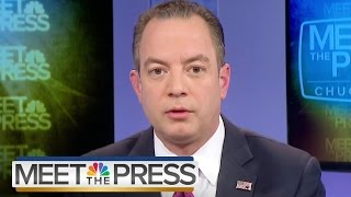 Reince Priebus On Russia Hacking: There's 'No Conclusive Report' | Meet The Press | NBC News