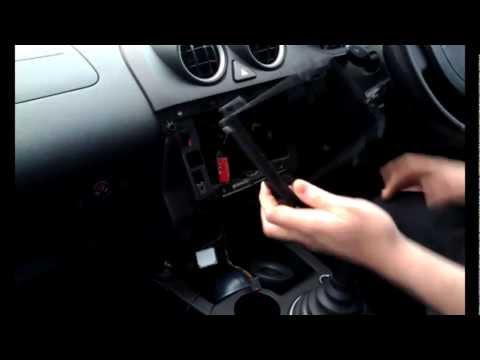 Radio Installation Ford Fiesta Triple Dash (2002-2008)   JustAudioTips
