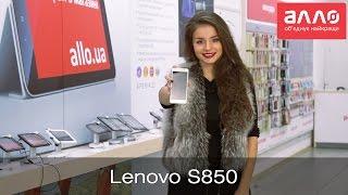 Видео-обзор смартфона Lenovo S850
