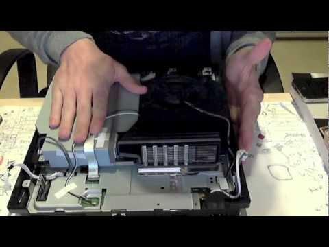 PS3 Slim blu ray laser / Laufwerk wechseln (laser / drive change) / Keine spiele werden gelesen