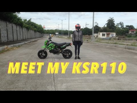 Garage Visits : My Garage Part 2 : Kawasaki KSR 110 (mini moto) : Review