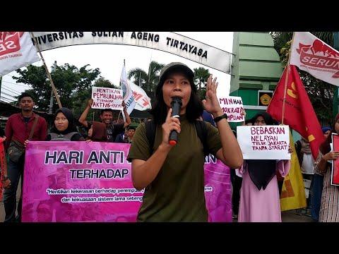 Download  Kampanye Hari Anti Kekerasan Terhadap Perempuan Internasional - Highlight FPR Banten on Action Gratis, download lagu terbaru