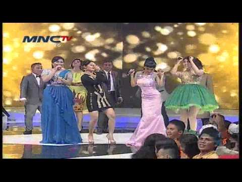 Siti Badriah Feat Via Valen, Julia Perez, Wiwiek Sagita  Berondong Tua  - Dmd Show Mnctv video