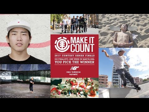 Element Make It Count 2017: Ryo Motohashi
