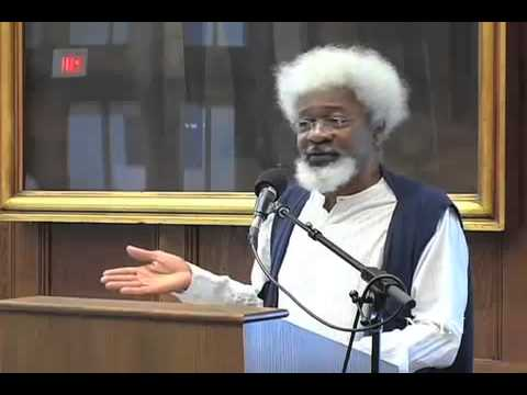 Video 6 Wole Soyinka Speaks@ The Christopher Okigbo International Conference Harvard University