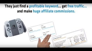 How To Make Money Online With Affiliate Marketing   Clickbank   $1k/day With Free Traffic Keywords